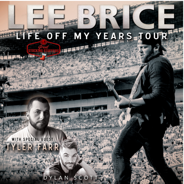Lee Brice Life Off My Years Tour