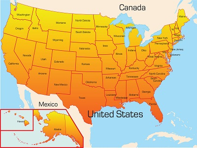 Name Four U S States That Share Their Border With Texas 104 9